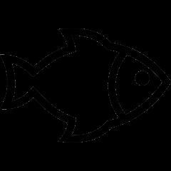 Obrazek ryby, która symbolizuje stawy znajdujące się na osiedlu Dojlidy.