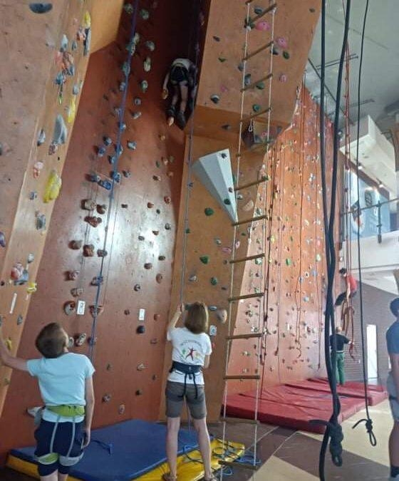 Wyjście na ściankę wspinaczkową Okapik