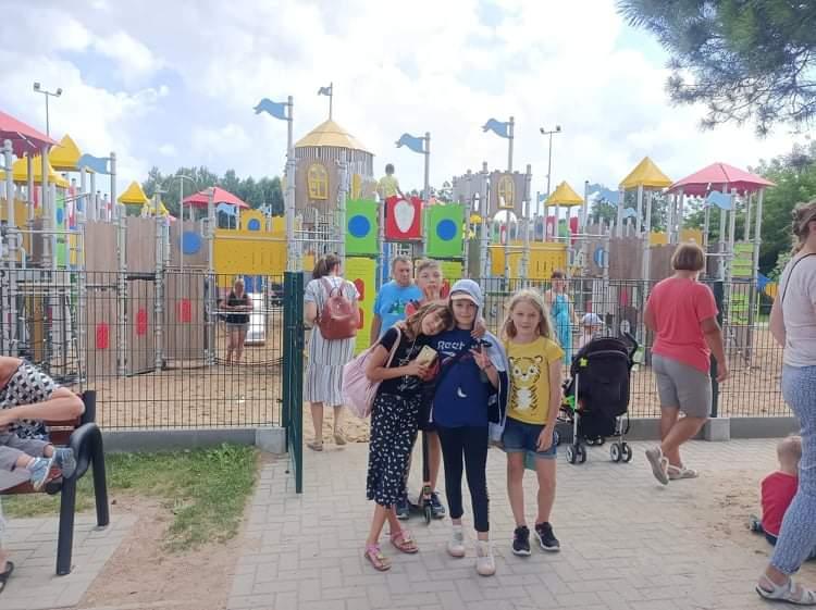 Lipcowe zajęcia na osiedlu Dojlidy